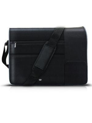 Сумка для ноутбука crown cmb-568 (black) 17. Цвет: черный