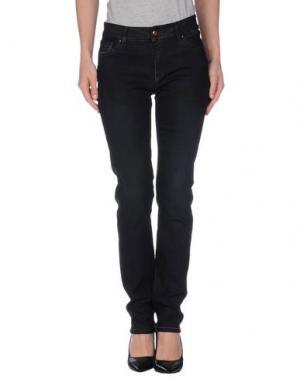 Джинсовые брюки TELERIA ZED. Цвет: черный