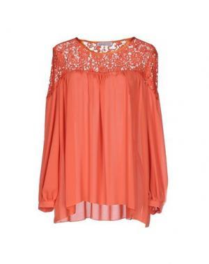 Блузка ANGELA MELE MILANO. Цвет: красный
