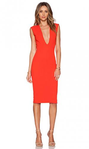 Платье grace SOLACE London. Цвет: красный