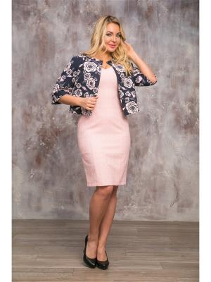 Жакет AKIMBO. Цвет: темно-синий,розовый