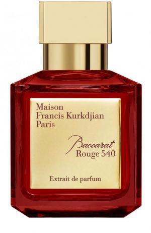 Парфюмерный экстракт Baccarat Rouge 540 Maison Francis Kurkdjian. Цвет: бесцветный