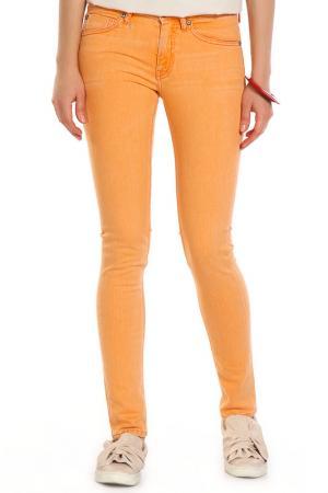 Джинсы MIX JEANS. Цвет: оранжевый