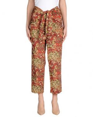 Повседневные брюки CACHAREL. Цвет: красный