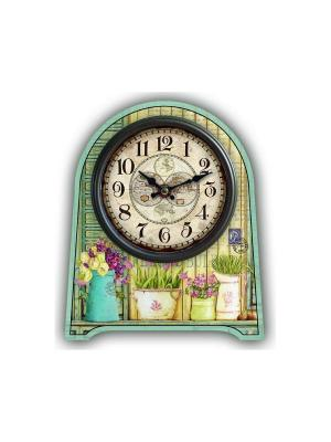 Часы настольные Magic Home. Цвет: голубой