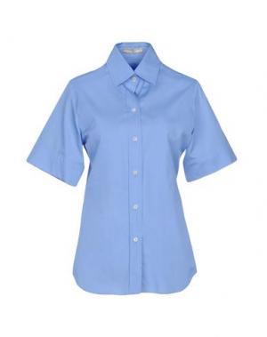 Pубашка BOUCHRA JARRAR. Цвет: небесно-голубой