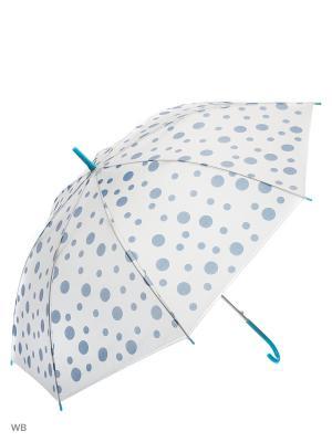 Зонт Modis. Цвет: белый, голубой