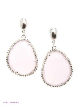 Серьги Lastoria. Цвет: розовый