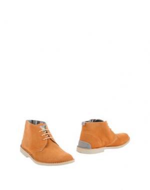 Полусапоги и высокие ботинки ANGELO NARDELLI. Цвет: оранжевый