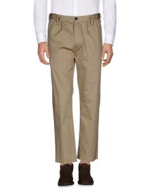 Повседневные брюки COVERT. Цвет: песочный