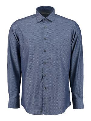Рубашка Ingram. Цвет: темно-синий