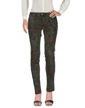 Повседневные брюки CAMOUFLAGE AR AND J.. Цвет: зеленый