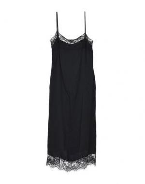 Длинное платье DIXIE. Цвет: черный