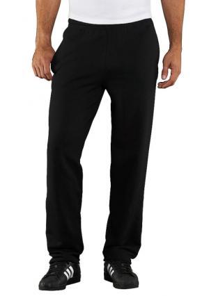 Спортивные брюки Fruit of the Loom. Цвет: черный