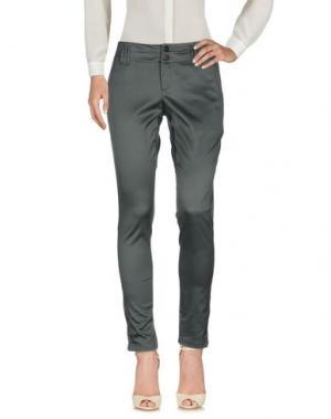 Повседневные брюки STRENESSE. Цвет: свинцово-серый