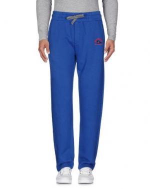 Повседневные брюки VIRTUS PALESTRE. Цвет: синий