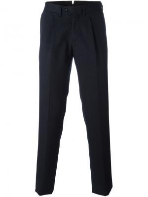 Зауженные брюки Borrelli. Цвет: синий