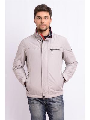 Куртка TAIS. Цвет: светло-серый