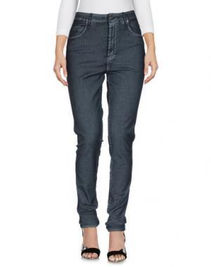 Джинсовые брюки NEUW. Цвет: стальной серый