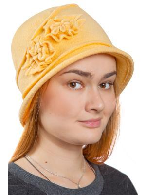 Шляпа Бонита Three S. Цвет: желтый