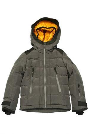 Куртка Pinetti. Цвет: серый, желтый