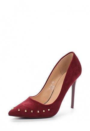 Туфли Marquiiz. Цвет: бордовый