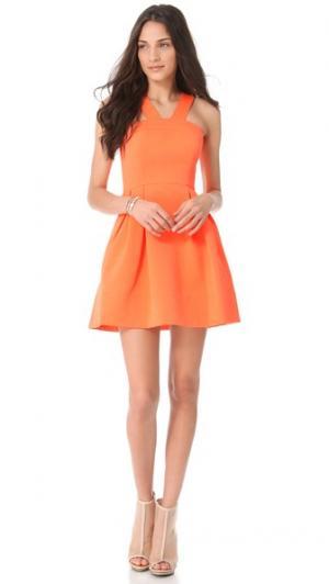 Платье Melaney Shoshanna. Цвет: золотой