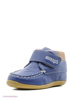 Ботинки Ortope. Цвет: синий