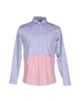 Pубашка THE QUIET LIFE. Цвет: небесно-голубой