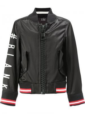 Куртка-бомбер Limited Edition Maison Mihara Yasuhiro. Цвет: чёрный