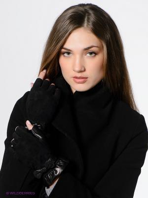 Митенки Eleganse. Цвет: черный