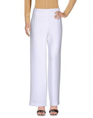 Повседневные брюки WEILL. Цвет: белый