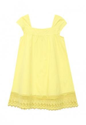 Платье Z Generation. Цвет: желтый