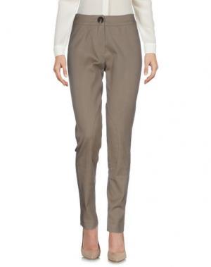 Повседневные брюки NATAN COLLECTION. Цвет: светло-коричневый