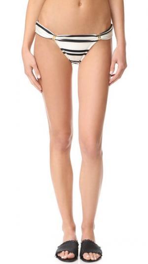 Классические плавки бикини Bia Tube ViX Swimwear. Цвет: белый