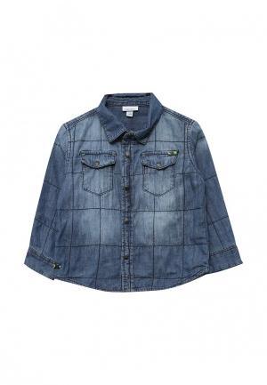 Рубашка джинсовая OVS. Цвет: синий