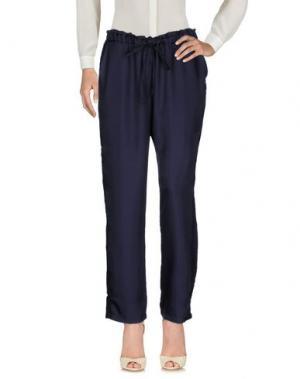 Повседневные брюки CLU. Цвет: темно-синий