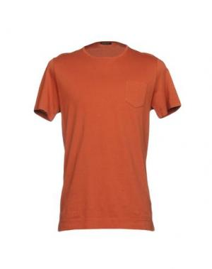 Футболка BELLWOOD. Цвет: ржаво-коричневый
