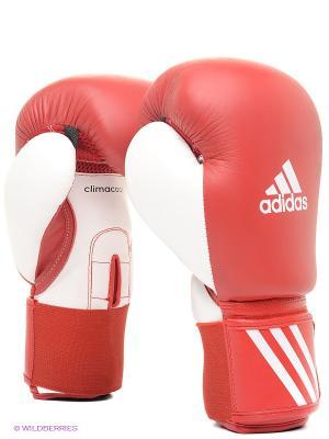 Перчатки боксерские Performer Adidas. Цвет: красный