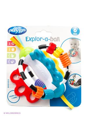 Playgro Игрушка развивающая. Цвет: красный, оранжевый, белый, черный, синий, зеленый, фиолетовый