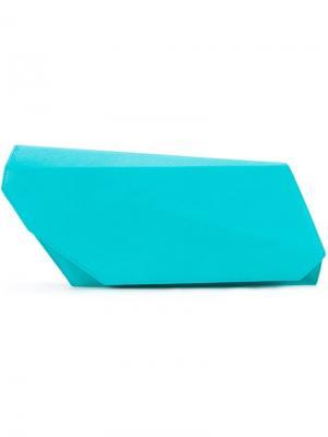 Клатч Angular Lamat. Цвет: зелёный