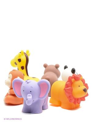 Popbo Blocs - Дикие животные K'S Kids. Цвет: коричневый, сиреневый, бежевый, оранжевый, желтый, белый