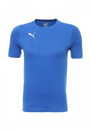 Футболка спортивная PUMA. Цвет: синий