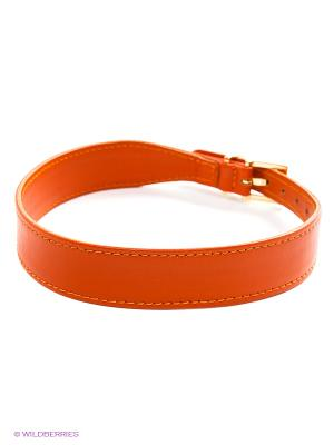 Ошейник Doggy Style. Цвет: оранжевый