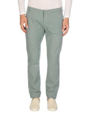 Повседневные брюки ENTRE AMIS. Цвет: грифельно-синий