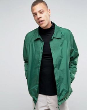 Weekday Спортивная куртка Bob. Цвет: зеленый