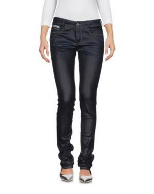 Джинсовые брюки DEK'HER. Цвет: синий