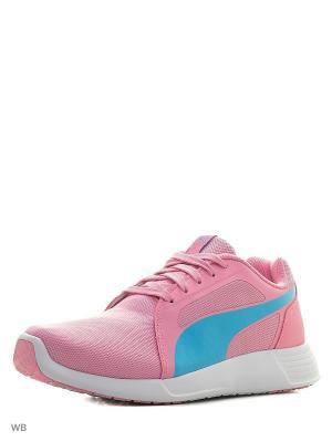 Кроссовки ST Trainer Evo Jr Puma. Цвет: розовый, голубой
