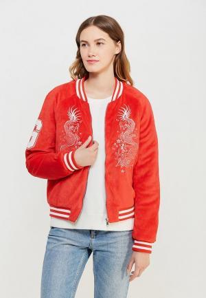 Куртка Jennyfer. Цвет: красный