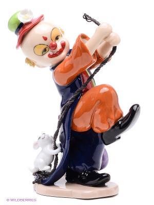 Фигурка Клоун Pavone. Цвет: сиреневый, рыжий, бежевый, синий